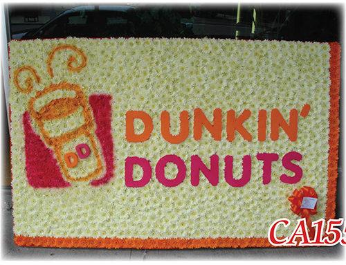 Dunkin Donuts Arrangement